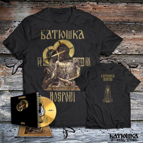 "BATUSHKA -""HOSPODI"" CD JEWELCASE + T-SHIRT"