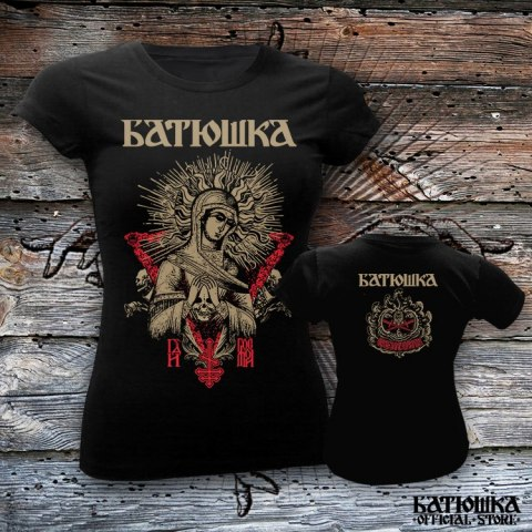 "BATUSHKA - ""MARY SKULL"" T-SHIRT GIRLY (PRE-ORDER)"