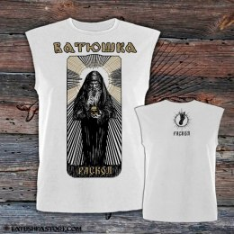 "BATUSHKA - ""RASKOL"" SLEEVELESS T-SHIRT"
