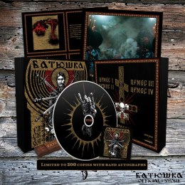 "BATUSHKA - ""РАСКОЛ"" / ""RASKOL"" WOOD BOX BLACK CD (PRE-ORDER)"