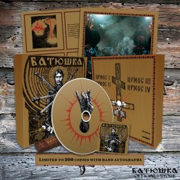"BATUSHKA - ""РАСКОЛ"" / ""RASKOL"" WOOD BOX GOLD CD"