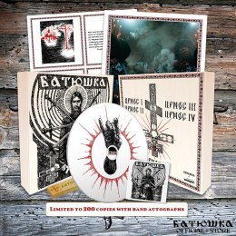 "BATUSHKA - ""РАСКОЛ"" / ""RASKOL"" WOOD BOX WHITE CD"