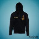 "ZIPPER EMBROIDERED HOODIE ""RASKOL"""