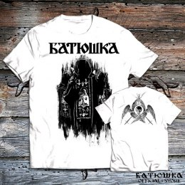 "T SHIRT BATUSHKA ""SHADOWS"" WHITE"