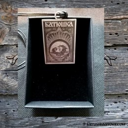 "BATUSHKA PENDANT ""HOLY HEAD"""
